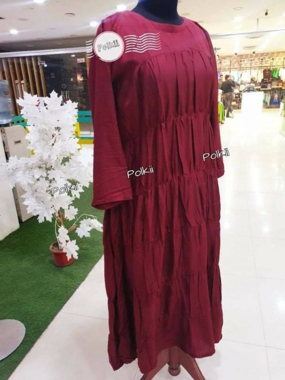 Maroon Long Maxie